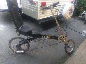 Recumbent bike Bike E