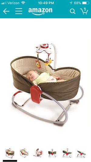 Tiny 3 in 1 Rocker Napper(baby bassinet)