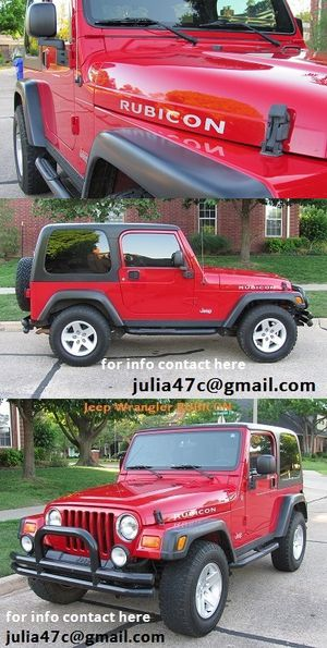 2004 Jeep Rubicon 58k miles Excellent!
