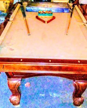 I have a 8 foot long original Aardeset italian slate pool table