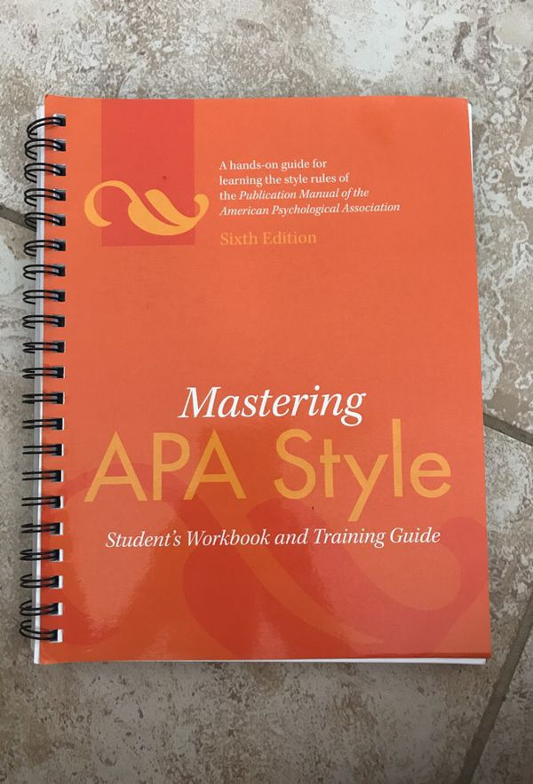 apa book edition