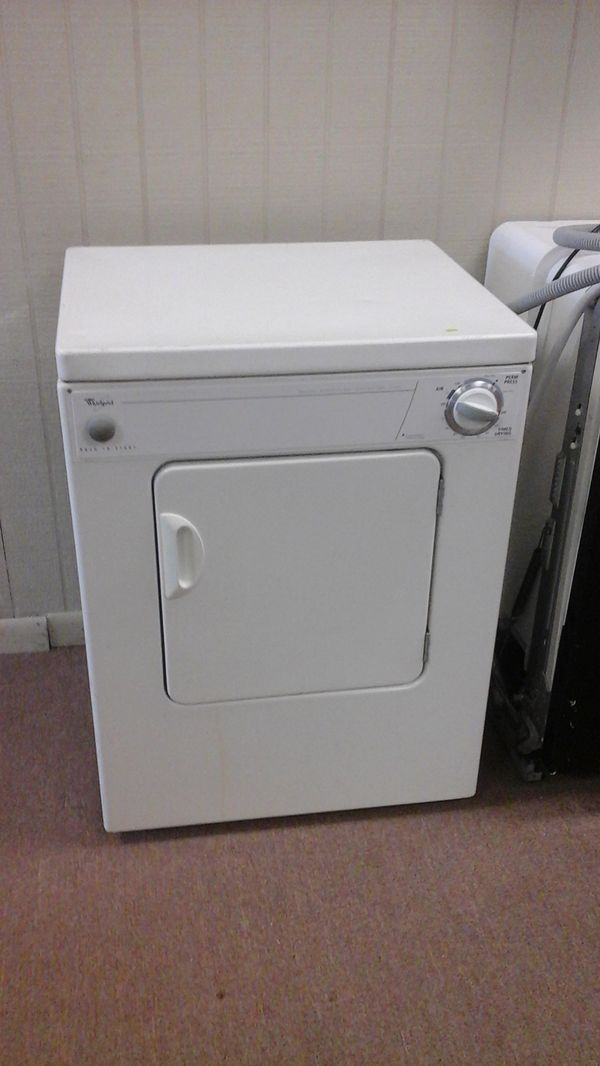 Portable Electric Dryer Whirlpool 110v (Appliances) in Tulsa, OK ...