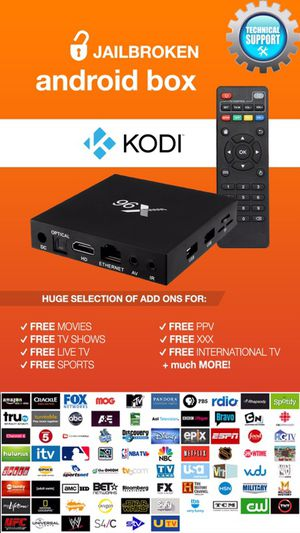 JAILBROKEN Android TV BOX❗️🖥 || FULLY LOADED w/ Kodi v17.4, Mobdro & Showbox || 📞 24/7 Technical Support || Works better than Amazon Fire Stick ‼️||