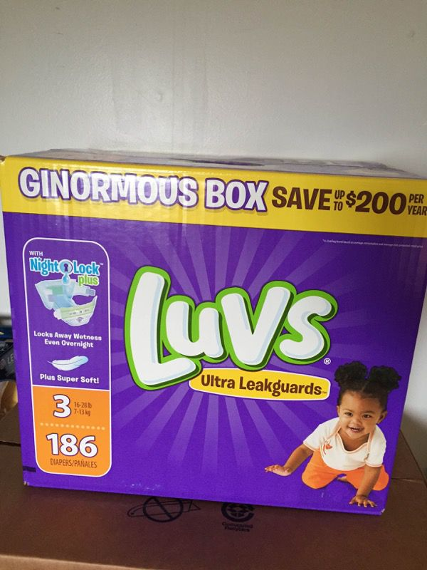 Luvs size 3 diapers ( Baby & Kids ) in San Francisco, CA - OfferUp