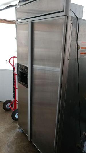 "42""Kitchenaid superba stainless steel 27.0 cu ft side by side fridge/freezer"