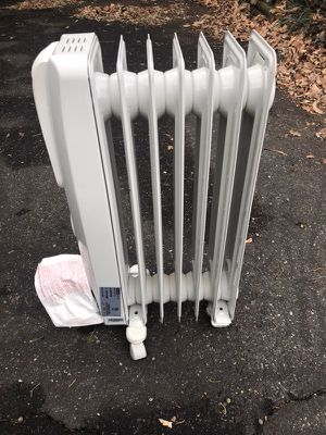 DeLonghi EW7707CM 1500w portable oil-filled radiator - used