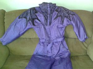 RODEO Women's Purple Ski Pantsuit Size 44
