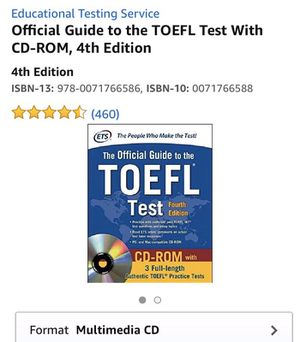 The official guide to TOEFL