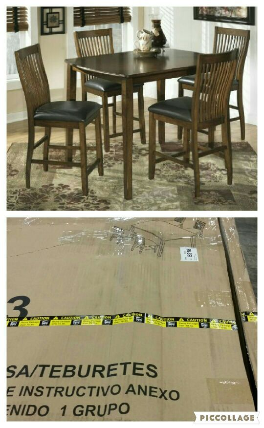 Ashley 5 Piece Dining Set Brand New Furniture In Columbus Oh Offerup