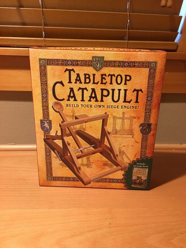 how to build a tabletop catapult