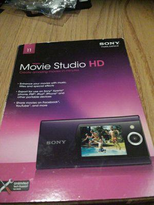 Sony Vegas software