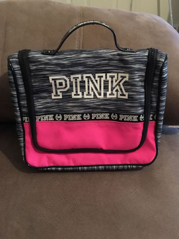 PINK shower caddy/makeup bag (Beauty & Health) in San Antonio, TX