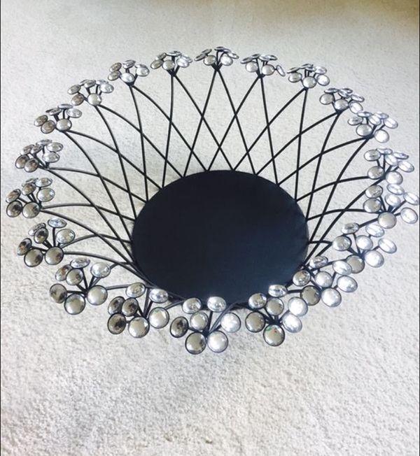 Rhinestone Basket *Price Firm *