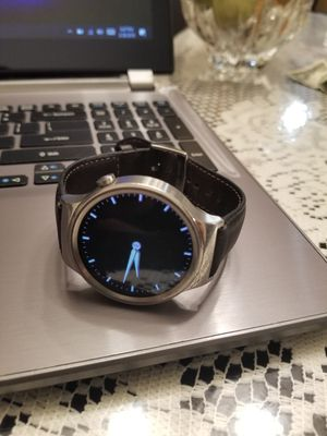 Huawei Watch Stainless Steel with Leather Band