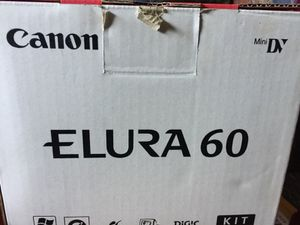 Camcorder Elura 60 DV mini with extra lens