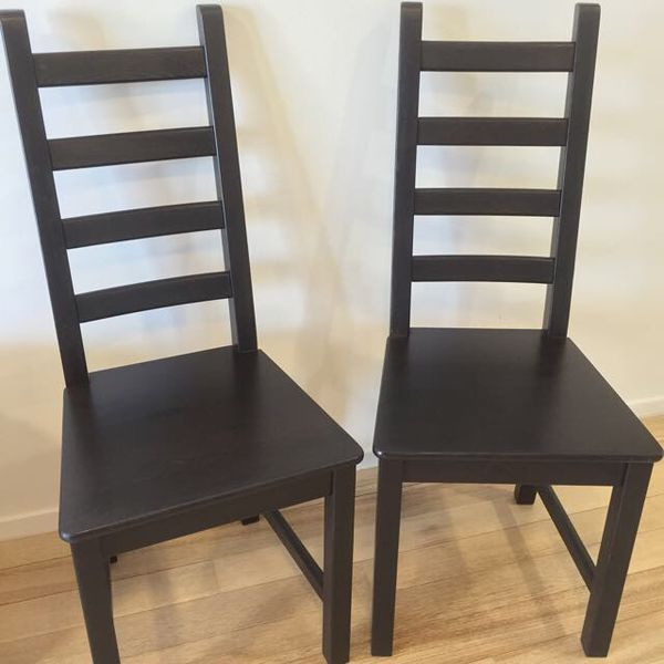 Moving sale Ikea Kaustby dining chairs high back espressoMoving sale Ikea Kaustby dining chairs high back espresso  . High Back Dining Chairs Ikea. Home Design Ideas