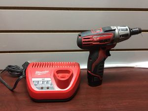 Milwaukee Power Drill & Battery Charger