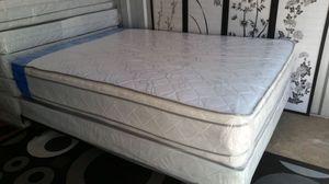 New Queen Size Pillowtop Mattress + Box Spring