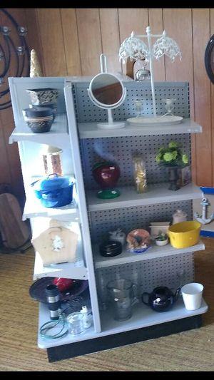 Stores shelves