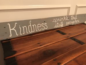 Reclaimed Pallet Sign: Kindness Sprinkle That Stuff Everywhere