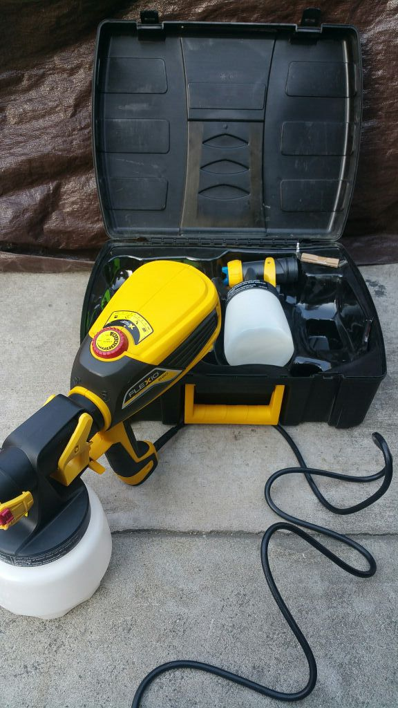 wagner flexio 590 hvlp paint sprayer tools machinery in fontana. Black Bedroom Furniture Sets. Home Design Ideas