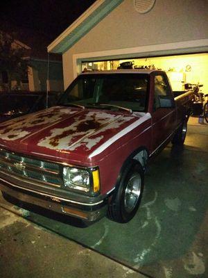 Chevy S10 1993 SL