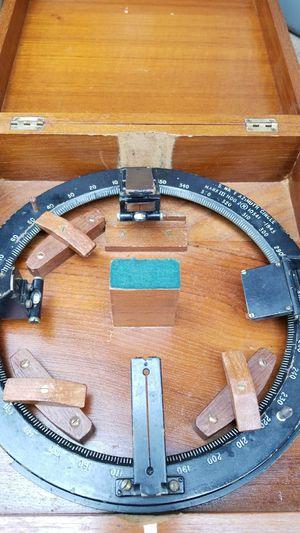 Vintage 1943 U.S. navy azimuth circle