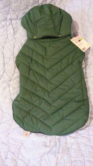 Medium green Dog coat