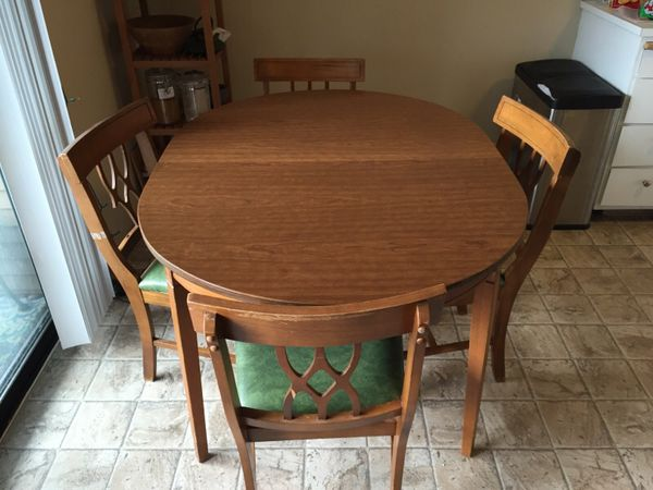 Dining Room Set Table And 4 Chairs Furniture In Seattle WA OfferUp