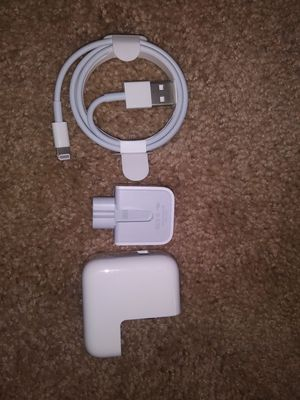 Apple charger and 12v block authentic
