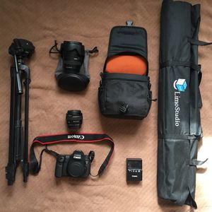 Canon EOS 6D and Accessories
