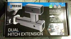 Dual hitch extension