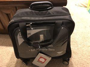 Delsey roller laptop bag