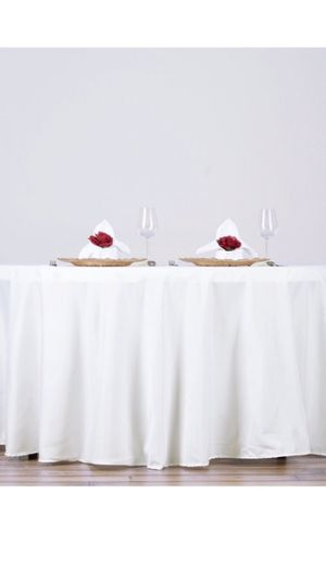 Linen rental: wedding or parties