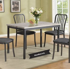 5 Piece Dining room Set under $300 free delivery.. please visit (iNeedBed. info) for more details