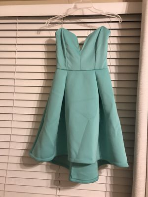 Teal party dress! Size small!