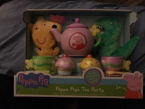 Peppa pig's tea party
