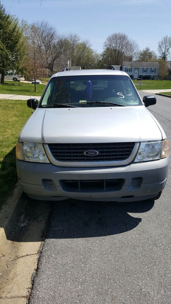2002 Ford Explorer XLS 4x4 ( Cars & Trucks ) in Bowie, MD ...