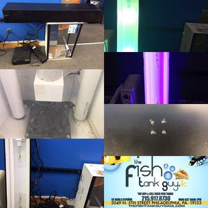 """48"""" Metal Halide light with 48"""" blue Actinic bulb $100"""