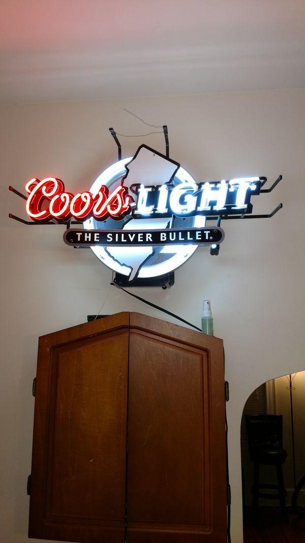 Coors light neon bar sign boats marine in lodi nj offerup coors light neon bar sign mozeypictures Choice Image