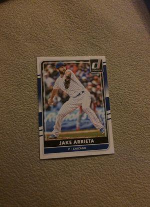 Jake Arrieta Baseball Card