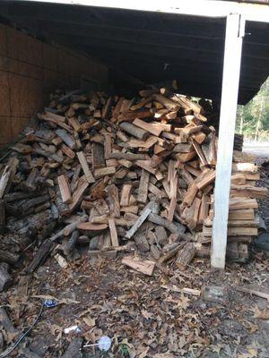 Firewood! Seasoned and ready to burn