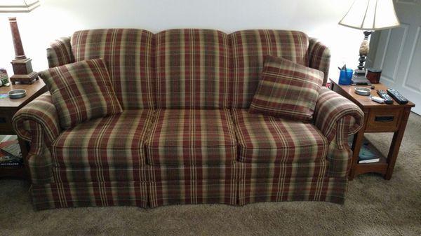 Plaid Sofa burgundy plaid sofa furniture in bluffton sc