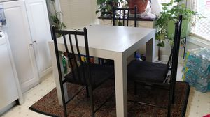 Breakfast Dining Table and Chairs