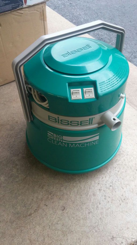 bissel big green machine