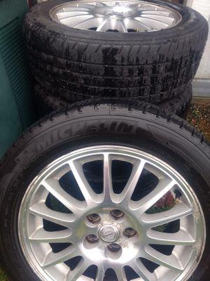 Mopar wheels with tires