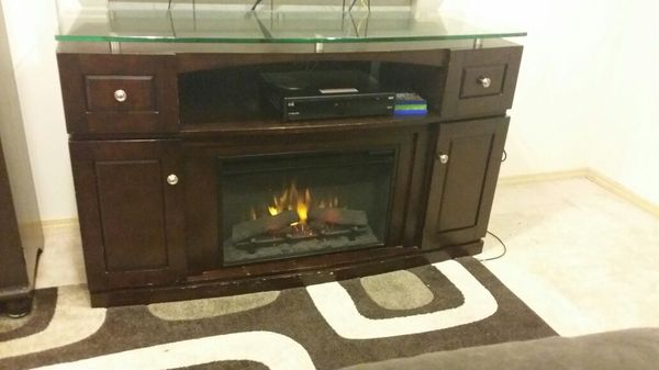 Electric Fireplace Costco Brand Furniture In Kent Wa Offerup