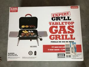 Portable grill, brand new, never opened the box