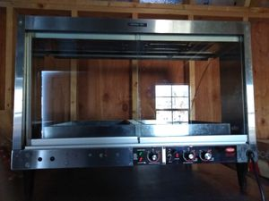 Brand New 2 Pan Electric Commercial Heat Wamer