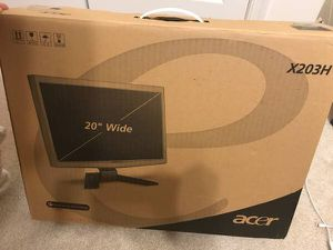"""Acer 20"""" Monitor X203H"""